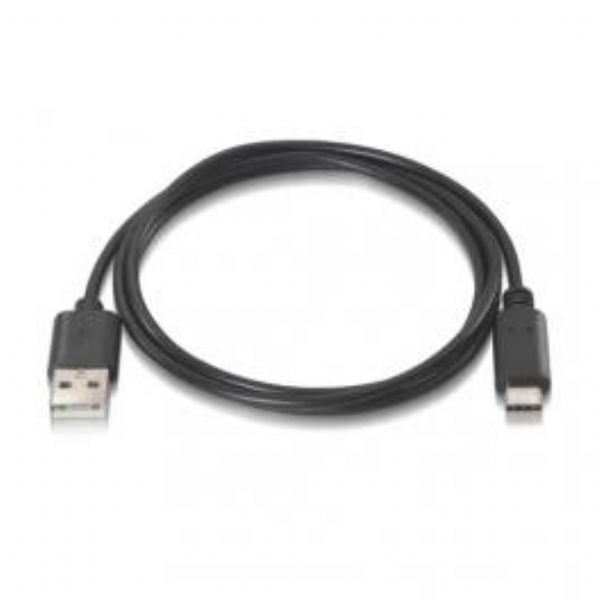 CABLE USB 2.0 3A TIPO USB-C/M.A/M NEGRO 0,5M 10.01.2100