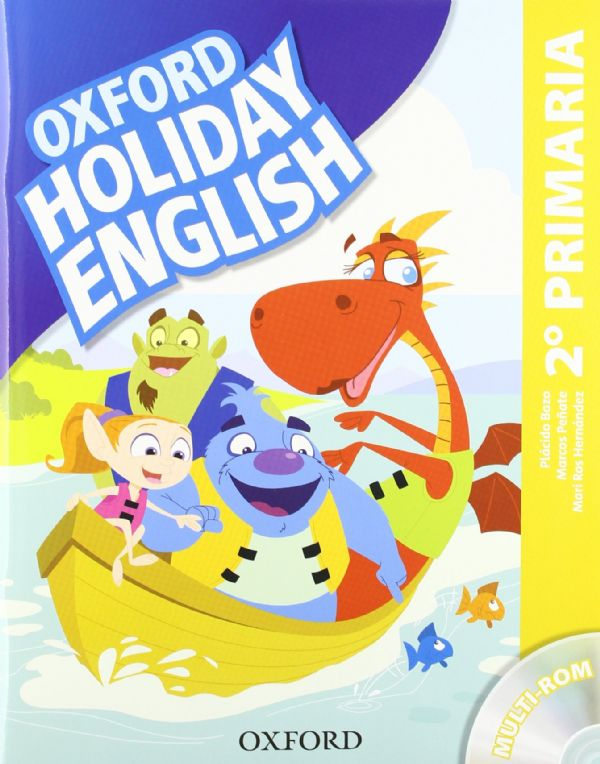 2º PRIMARIA OXFORD HOLIDAY ENGLISH
