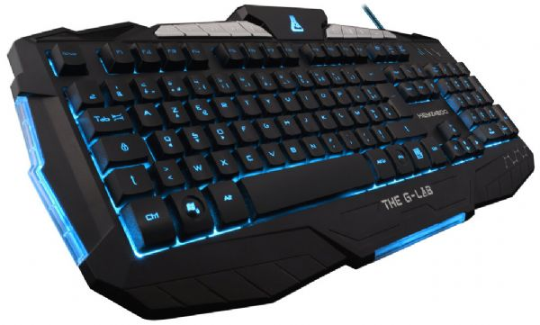 TECLADO GAMING THE G-LAB KEYZ200-N/SP ILUMINADO