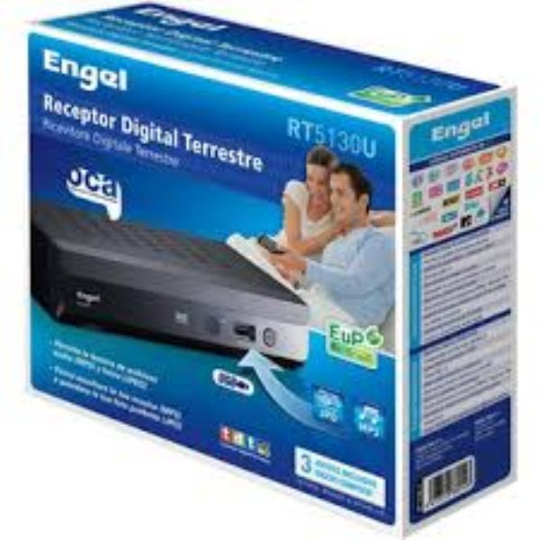 Receptor Digital Terrestre Engel RT5130U