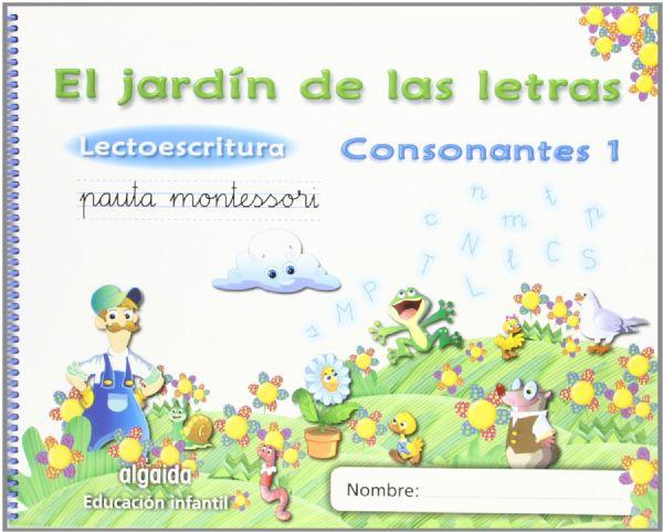 El jard n de las letras consonantes 1 lectoescritura for El jardin de las letras