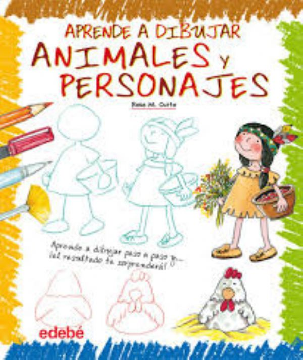 Aprende a dibujar animales y personajes.