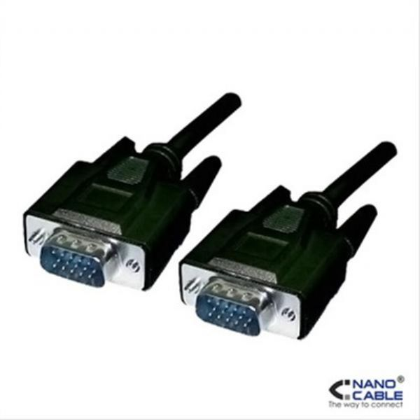 Cable VGA 5 mts Nanocable