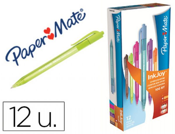 BOLIGRAFO PAPER MATE INKJOY 100 RETRACTIL  Marron