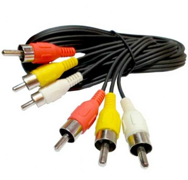 Cable audio video a RCA 3.0 mts