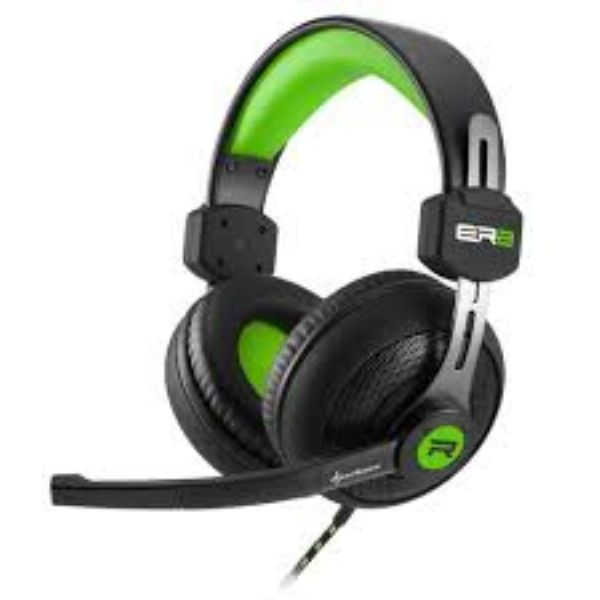 Auricular Sharkoon RUSH ER2 Gaming Green Edition