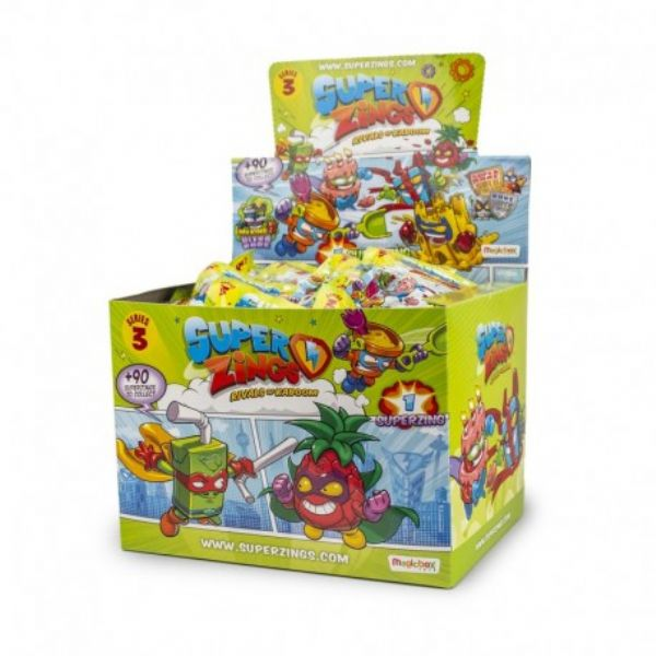 SUPER ZINGS  ONE PACK SERIE 3