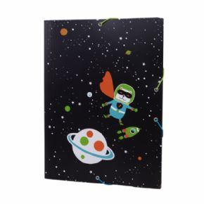 Carpeta ligera Super Heroes Space