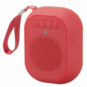 ONE+ ALTAVOZ BLUETOOTH MINI F4314 TWS 3W FUNCION MANOS LIBRES / MICROSD / USB / FM / BATERIA RECARGABLE COLOR ROJO