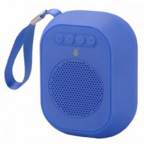 ONE+ ALTAVOZ BLUETOOTH MINI F4314 TWS 3W FUNCION MANOS LIBRES / MICROSD / USB / FM / BATERIA RECARGABLE COLOR AZUL