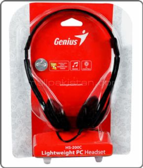 Auricular Genius PC HS200C retail pack