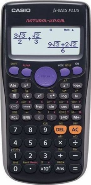 Calculadora Casio FX-82ES PLUS BK