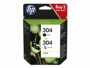 Cartucho HP 304 PACK negro y color