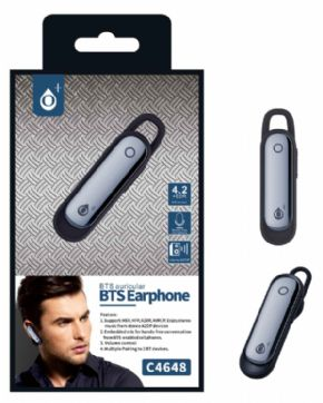 Auricular BTS One PLUS C4648 color negro