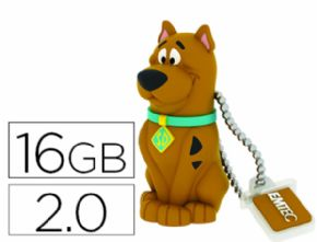 MEMORIA USB EMTEC FLASH 16 GB 2.0 SCOOBY DOO - Canon digital de 0,29€ incluido