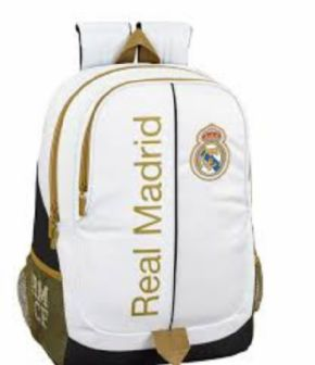 MOCHILA ADAPTABLE CARRO REAL MADRID 1ª EQUIP