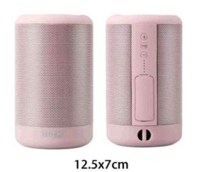 ALTAVOZ IMPERMEABLE KIKAS FT621 BLUETOOTH / SD / ROSA / FUNCION POWERBANK / MTK
