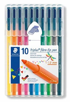 Rotulador Staedtler Triplus 10 Colores