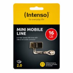 Dispositivo de almacenamiento Intenso mini mobile 16 GB USB Canon incluido de 0,29€