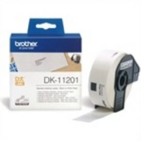 Etiqueta Brother DK-11201 color blanco