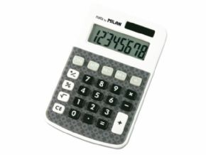 Calculadora MILÁN patented design 8 dígitos