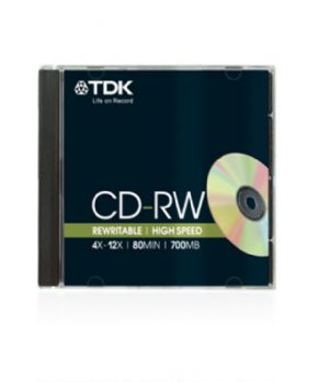 CD-RW Rewritable High Speed (1 unidad)