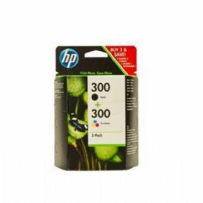 Cartucho de tinta HP 300Negro+300Color Pack