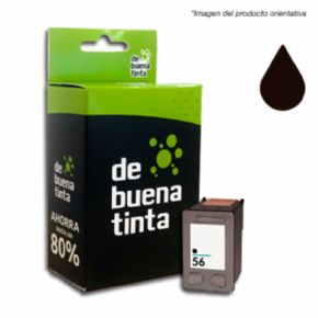 Cartucho de tinta HP 56XL Compatible Negro