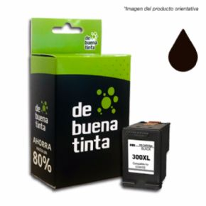 Cartucho de tinta HP 300XL Compatible Negro