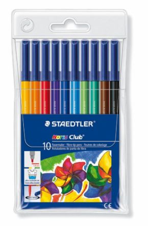 Rotuladores Staedtler 10 colores