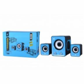 Altavoces multimedia BS200 Azul