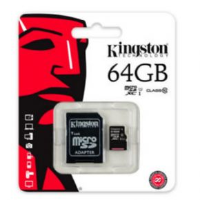 micro SD Card Kingston 64 GB Canon Digital Incluido de 0,29€