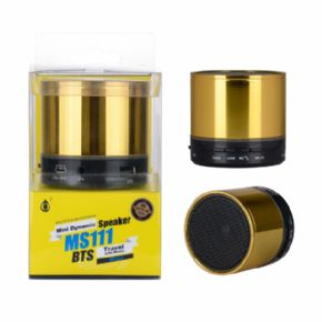 Mini altavoces dinámicos MS11 BTS Color Oro