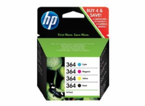 PACK HP 364 negro y colores original