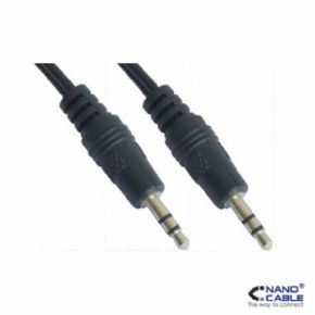 Cable Audio Estereo 3,5/M - 3,5/M 1,5m