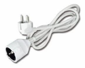 Extensor Cable Blanco