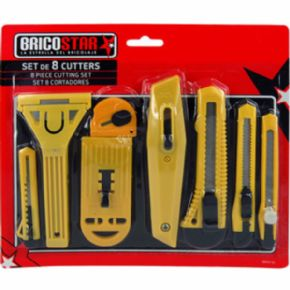 Set de 8 Cutters BricoStar