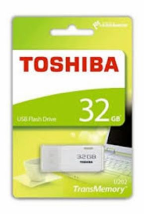 USB TOSHIBA 32GB Blanco, Canon Digital Incluido de 0,29€