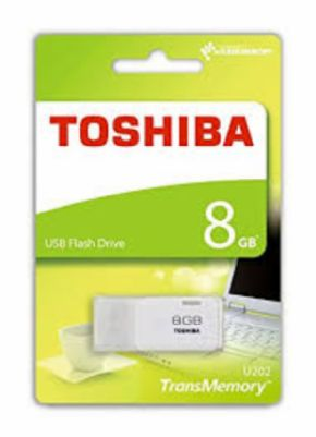 USB 8GB Toshiba Blanco Hayabusa, Canon Digital Incluido de 0,29€