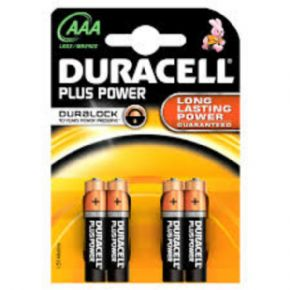 Pila Duracell AAA Plus Power