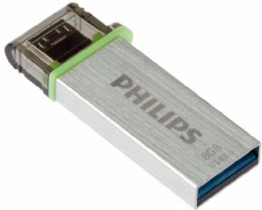 Dual Micro USB - USB 3.0 Philips 8GB, Canon Digital Incluido de 0,29€