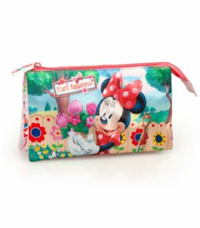 Portatodo triple Minnie Mouse