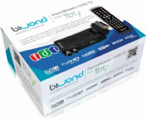 Decodificador Biwond DVB-T2