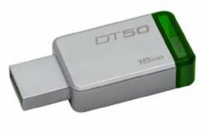 Memoria USB Kingston DataTraveler 50 16GB 3.1, Canon Digital Incluido de 0,29€