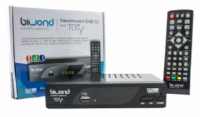 Decodificador DVB-T2 Biwond