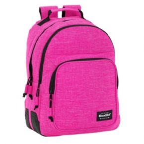 MOCHila DAY PACK DOBLE ADAPTABLE A CARRO BLACKFIT8 PINK