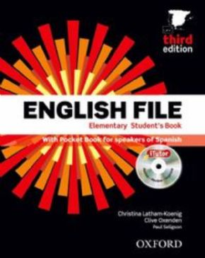 PACK+KEY).ENGLISH FILE ELEMENTARY (3A.ED