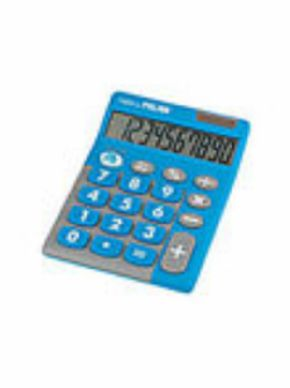 CALCULADORA MILAN TOUCH DUO AZUL 10 DIGITOS