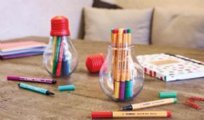 ROTULADOR STABILO COLORFUL IDEAS  12 COLORES MINI