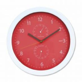 RELOJ DE PARED PLATINET SUMMER ROJO